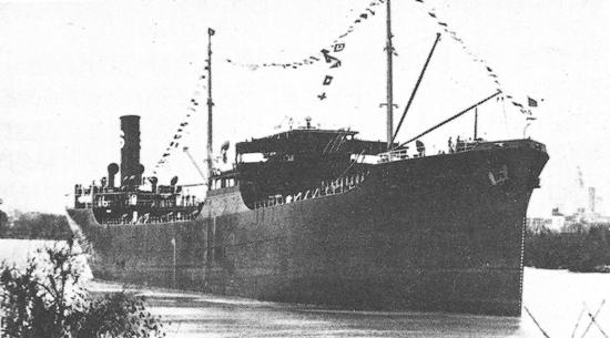 Largest Cargo Ship >> Mobiloil (American Steam tanker) - Ships hit by German U ...