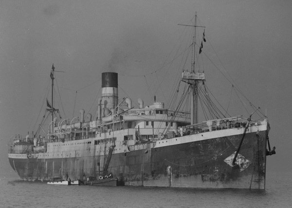 Largest Cargo Ship >> City of Cairo (British Steam passenger ship) - Ships hit by German U-boats during WWII - uboat.net