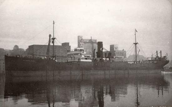 Largest Cargo Ship >> Melmore Head (British Steam merchant) - Ships hit by German U-boats during WWII - uboat.net