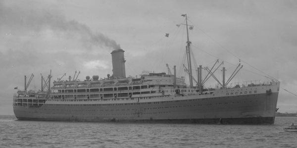Orcades British Troop Transport Ships Hit By German U Boats