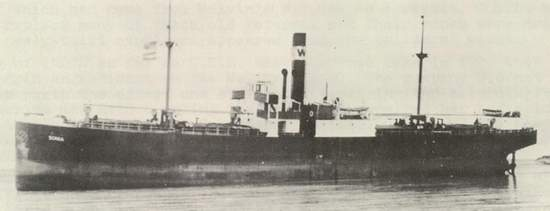 Liverpool Packet Canadian Steam Merchant Ships Hit By