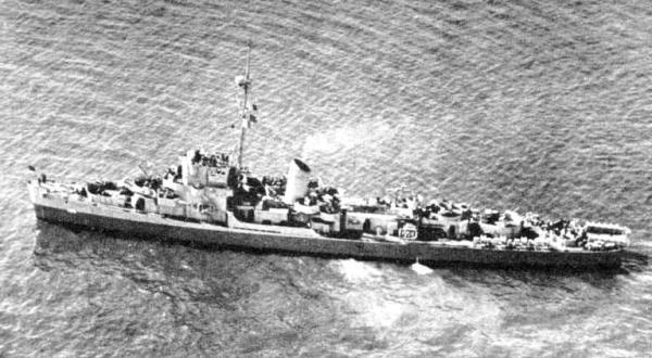 Wwii destroyer escort ships