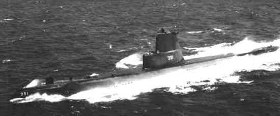 East Coast Diesel >> Greenfish (SS-351) of the US Navy - American Submarine of ...