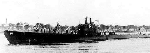USS Porpoise prewar
