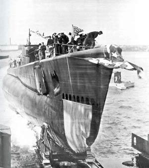 Shark (ii) (SS-314) of the US Navy - American Submarine of ...