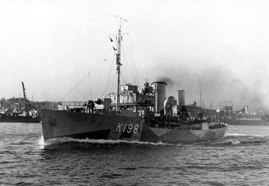 HMCS Spikenard (K 198) (Canadian Corvette) - Ships hit by