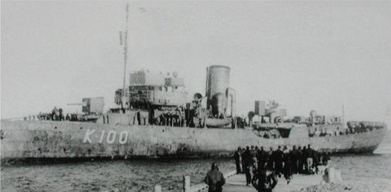 FFL Alysse (K 100) (French Corvette) - Ships hit by German U
