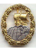 Merchant Raider Badge