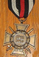 Honor Cross for Combatants