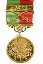 Empire Silver Medal Imtiaz with Scimitars
