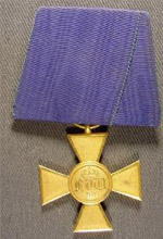 Prussian Cross Twenty-fifth year of Service