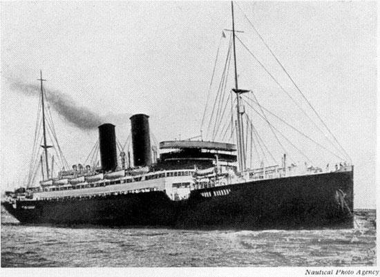 Passenger steamer Leasowe Castle - Ships hit by U-boats ...