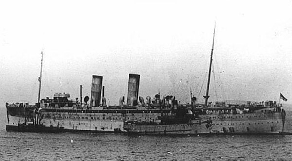 Armed merchant cruiser avenger ships hit by u boats german and austrian u boats of world war - Mechant avenger ...